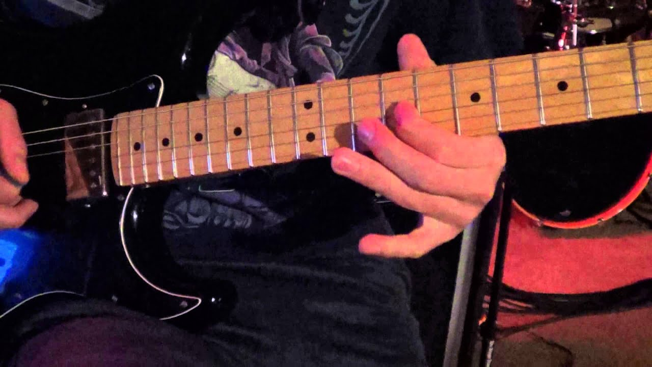 how to play tesla love song on guitar