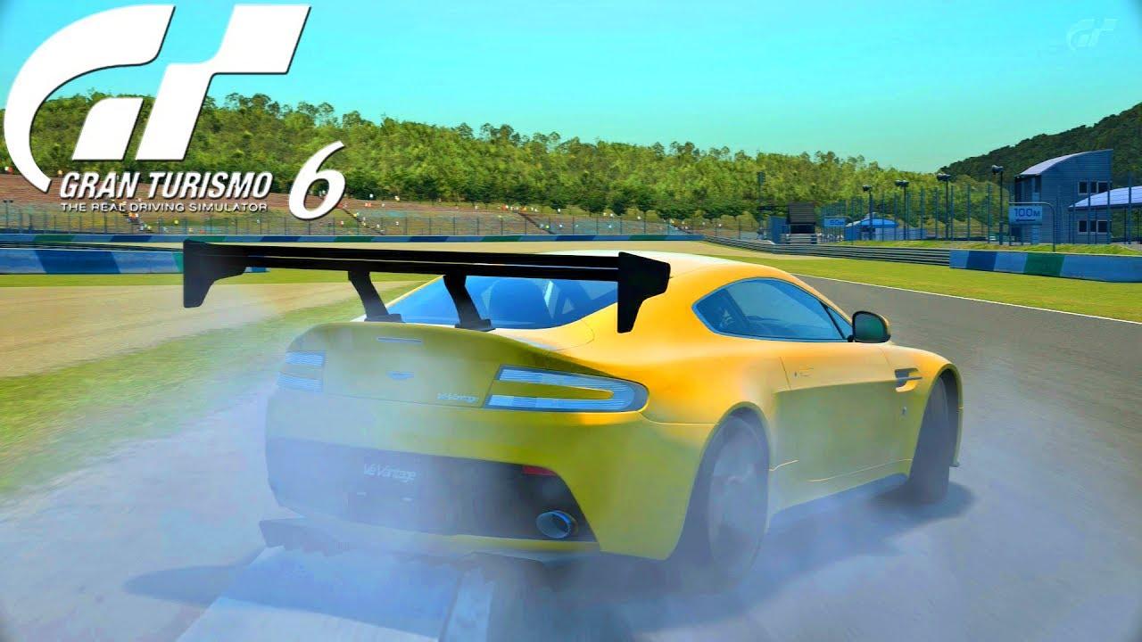 Gran Turismo 6 Drifting Aston Martin V12 Vantage Epic Car