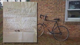Deputy Writes Heartfelt Note To 19-Year-Old Who