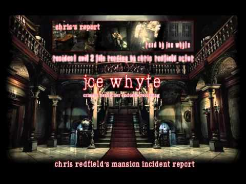 Chris&39;s Report recording by Joe Whyte
