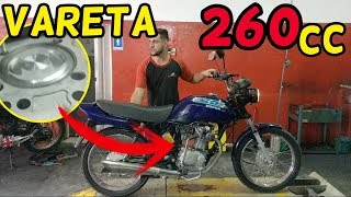 CG 99 Motor Vareta passado para 260 Cilindrada by. ALTO GIRO MOTOS
