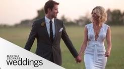 Leah and Michael's Shabby Chic Texas Wedding - Martha Stewart Weddings