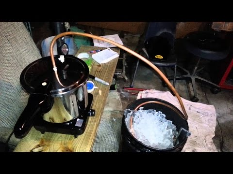 Home Made Alcohol Pressure Cooker Modification
