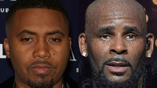 RARE Audio Of Nas Dropping ALARMING Info About What He Seen With R.Kelly Behind The Scenes!!