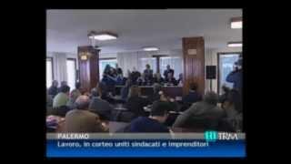 29/02/12 - Lavoro, in corteo uniti sindacati ed imprenditori