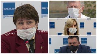 видео: Сказки про маски: в Волгограде чиновники путаются в показаниях