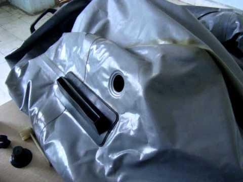 ремонт клапанов на лодке пвх видео