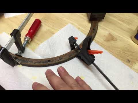 DIY How to restore a wooden steering wheel