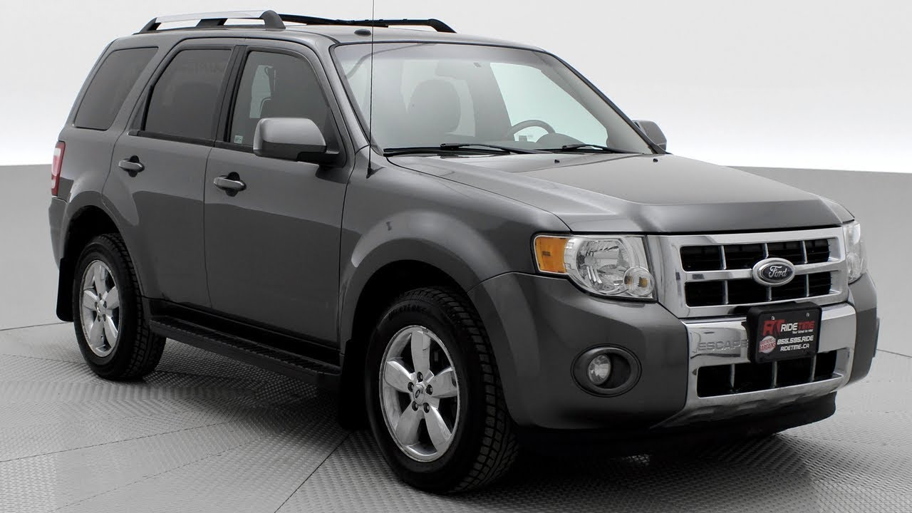 2009 Ford Escape Limited 4wd 3 0l V6 Leather Sunroof