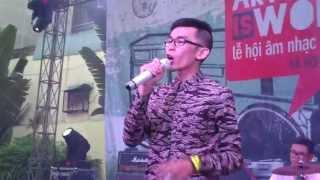 Nah - Đi Bụi @CAMA Music Festival 2013, Hà Nội