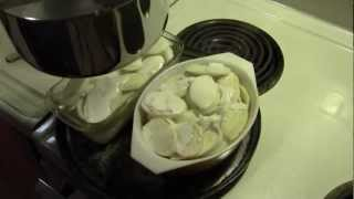 Scallop Potatoes For Dinner With Recipe