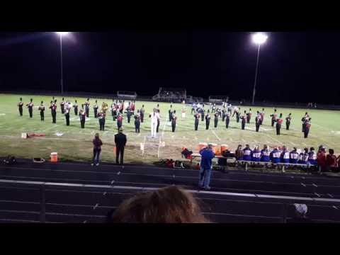 2015-2016 Pleasant Plains High School Marching Band (Die Another Day / Live and Let Die)