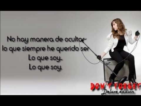 13 Lo Que Soy  This is Me Spanish Version Bonus Track  Demi Lovato Lyrics