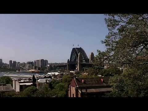 The view from the Sydney Observatory