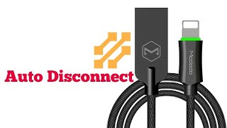 This lightning auto disconnect data cable is amazing!