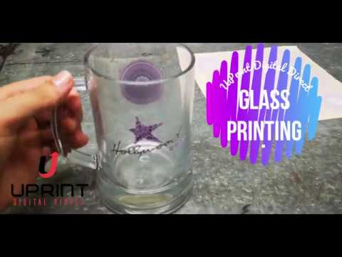 Glass Printing with UPrint Digital Direct