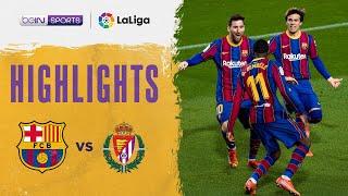 Barcelona 1-0 Valladolid   LaLiga 20/21 Match Highlights