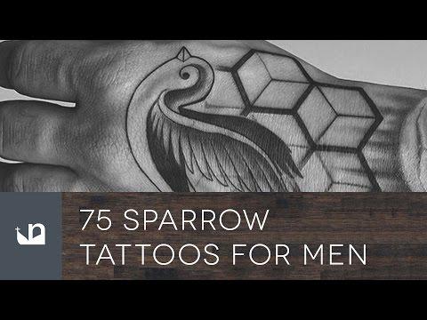 75 Sparrow Tattoos For Men