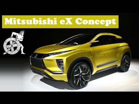 2015 Mitsubishi Ex Concept Live At 2015 Tokyo Motor Show Youtube