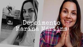 Marina em depoimento sobre o Método Restaurativo