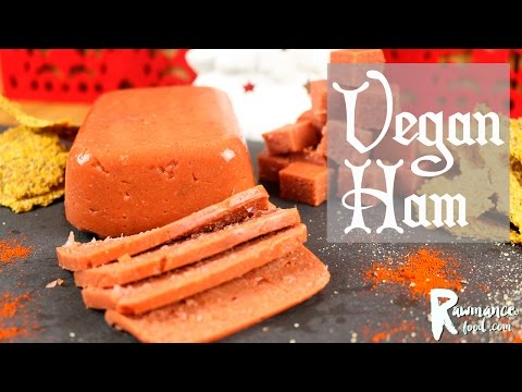 HOW TO MAKE VEGAN HAM (w/ Agar Agar) | Gluten-Free Christmas Recipe