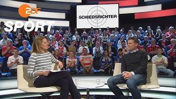 Brych spricht über die Rolle des Schiedsrichters im Fußball | das aktuelle sportstudio – ZDF