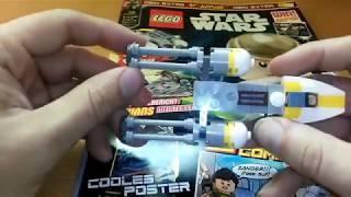 Lego Star Wars Magazin 30 mit Y-Wing Minimodell - Extra Extra Test