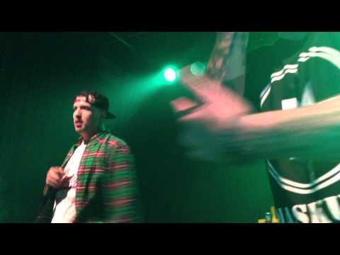 Fler, Sentence & DJ Gan G  - Hinter blauen Augen Tour (CHur 25.01.2013) Part 2 (Maskulin)