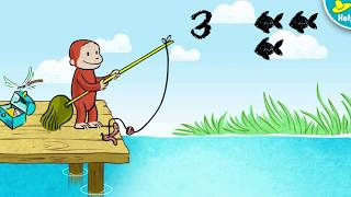 Curious George - Fishing With George Cartoons Episode