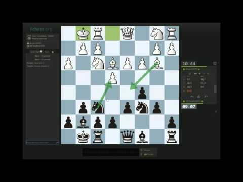 Rapid Game #2 - 3.c3 Sicilian vs JKnight