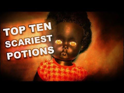 Higgypop's Ten Scariest Potions