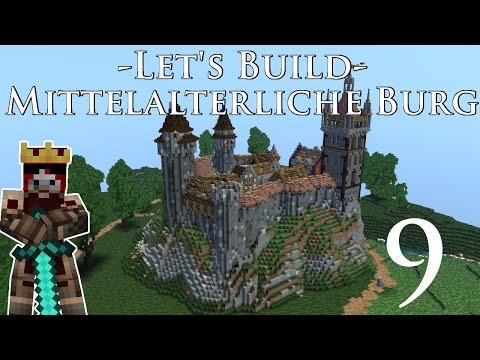 Minecraft Burg bauen - Let's Build mittelalterliche Burg #9 die Burgkapelle  Medieval Diary 