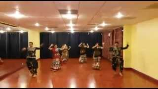 Nagada sang dhol - Jhankaar Beats Garba Performance!!!