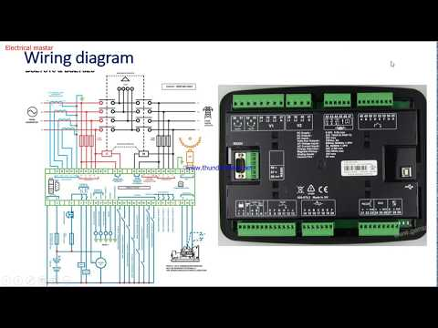 How Dg Deep Sea Controller Working How To Do Wiring From