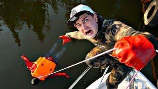 Магнитная рыбалка на корабле миллионера пошла не по плану, настолько жуткую находку не ожидал никто