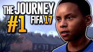 Fifa 17 the journey #1 - die geschichte des alex hunter! | fifa 17 story mode (deutsch)