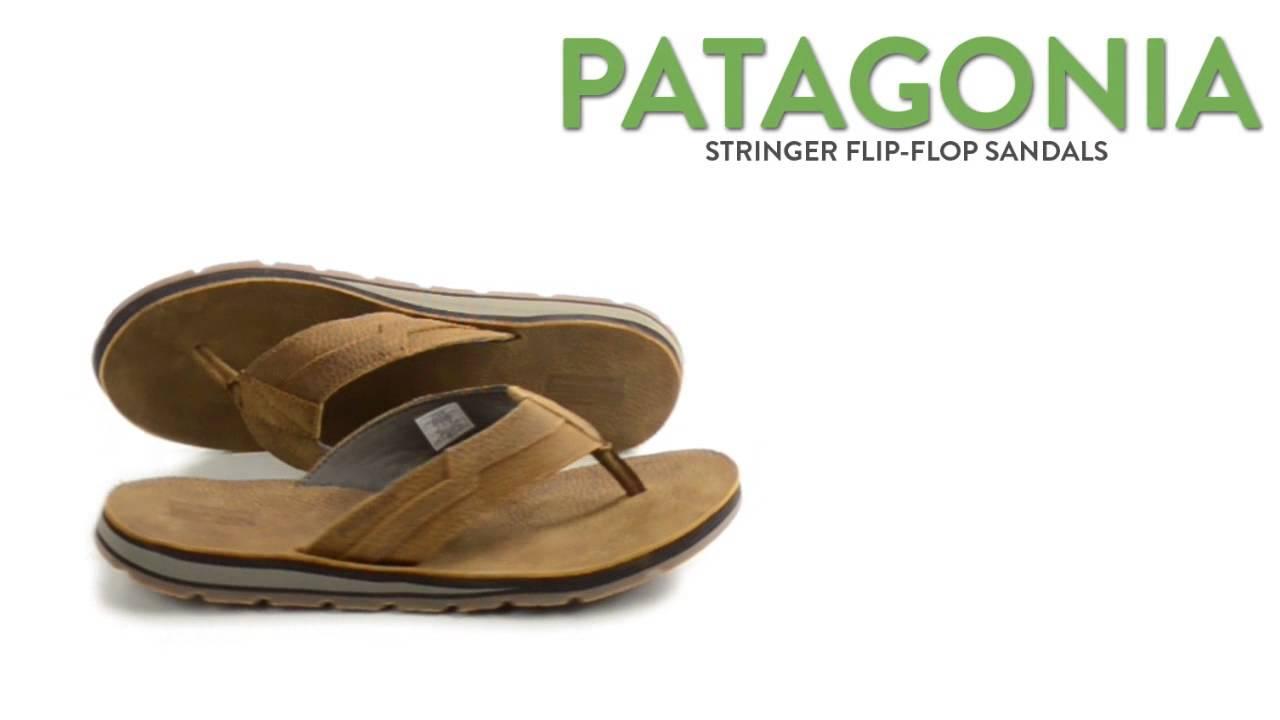 9c8a08521e0 Patagonia Stringer Flip-Flop Sandals (For Men) - YouTube