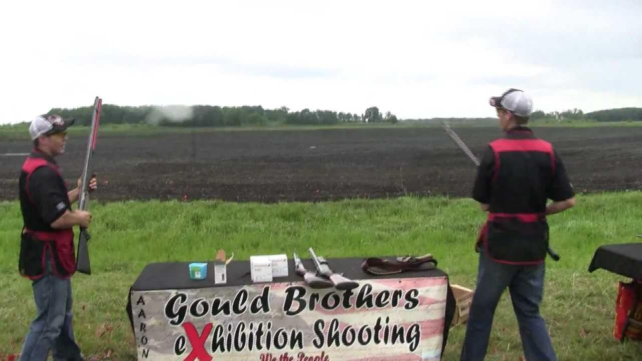 Gould Brothers Exhibition Shooting 2011 (Shotgun Trick Shooting)