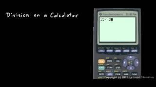 Prealgebra 2.05b - Dividing on a Calculator