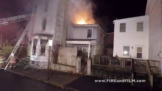 Fire in Vacant Dwelling - Shenandoah, PA - 11/30/2017