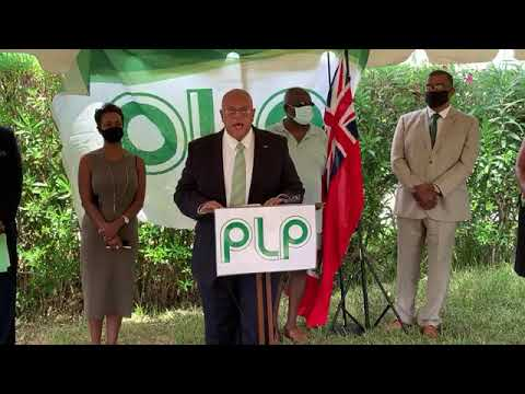 PLP Announce Vance Campbell As By-Election Candidate, Aug 19 2020
