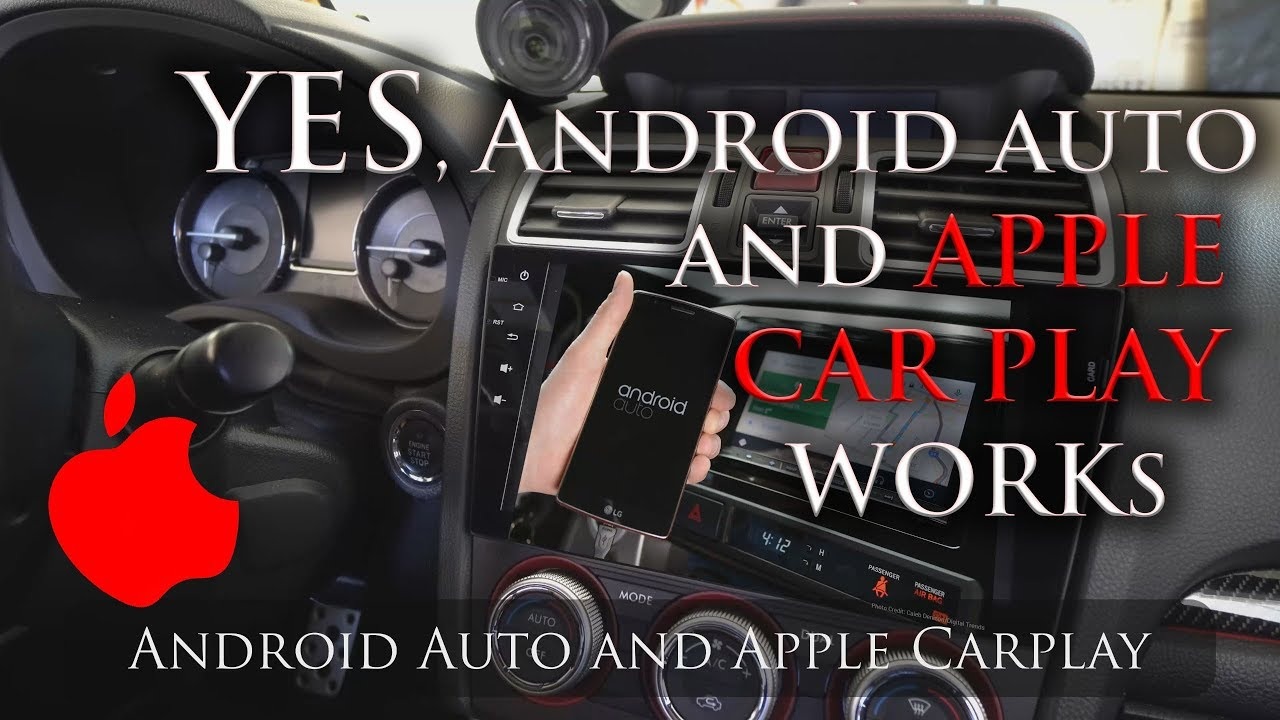 Android Auto And Apple Car Play Android Head Unit Youtube