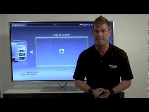 Panasonic Smart Viera My Home Screen