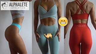Alphalete Try On Haul | Addressing The Issues