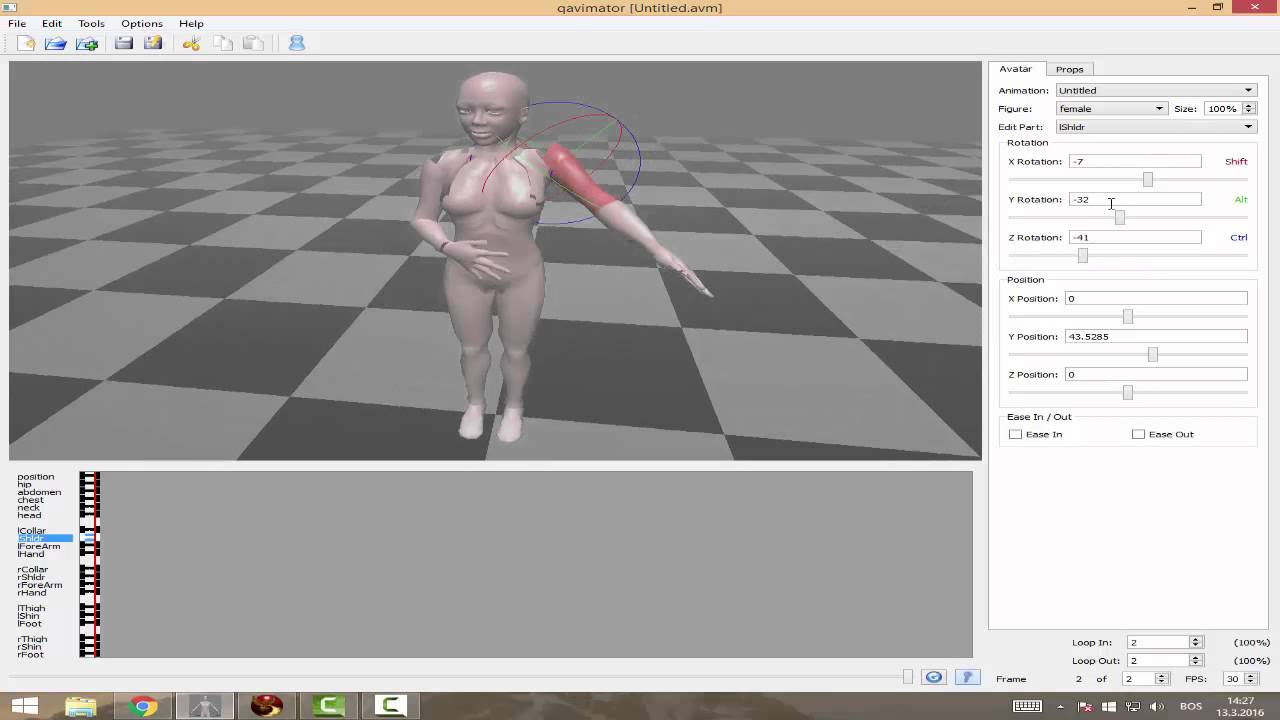 TISK Tutorial: Creating Poses for Second Life by Muli ana