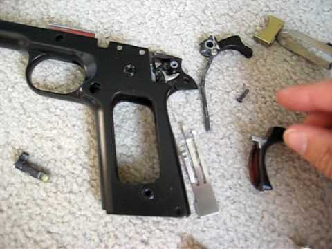 We 1911 Disassembly Youtube