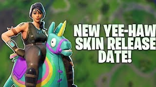 Fortnite NEW YEE-HAW Skin Release Date & Info - Female Giddy-Up Skin Coming Soon!