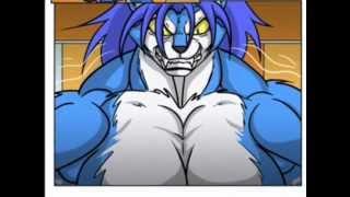 Muscle Growth Comic