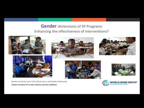 Gender sensitive social protection in the Caribbean