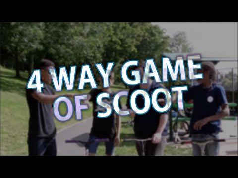 4 Way Game Of Scoot Ross Lomax Vs Steven Holland Vs